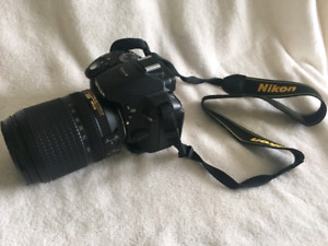 Nikon D5300 with 2 lenses and more