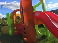 Little Tikes 8 in 1 play slide