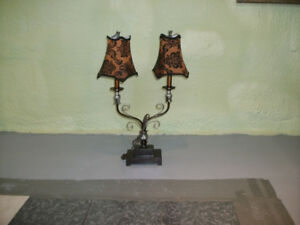 ENSEMBLE DE 3 LAMPES DE TABLES