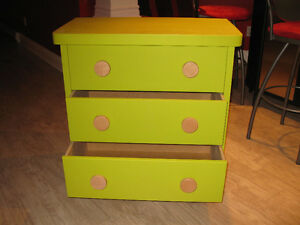Childs playroom / bedroom 3 draw chest