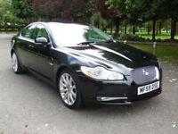 NOW SOLD 2009 59 Jaguar XF 3.0TD V6 auto Premium Luxury 63,000 Miles, F/S/H