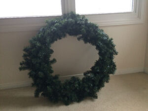 Large Indoor/Outdoor Christmas Wreath
