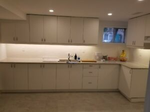 Newly renovated 3 bedrooms basement appartment in Malton