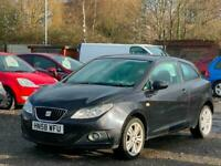 58 2009 SEAT IBIZA 1.4L 3 DOOR COUPE + LONG MOT + IDEAL FIRST CAR *