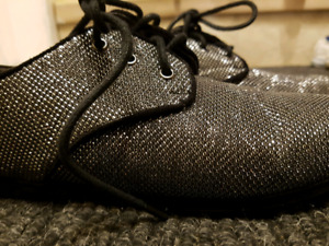 Chaussures noires brillantes pour fille - Grandeur 3