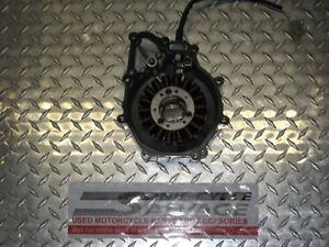 1999-2002 yamaha yzf-600 r-6 stator and cover oem.