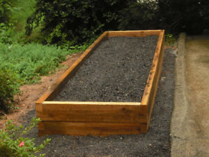 Cedar Planter Material 2x10 Rough