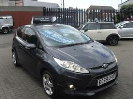 Ford Fiesta 1.6TDCi 2009MY Zetec S, **ONLY £20 PER YEAR ROAD TAX **