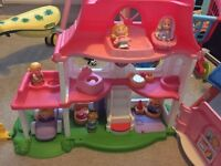 Fisher Price Little People Dolls House