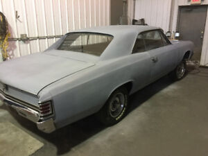 1967 Chevelle sports coupe 2Door Hard top