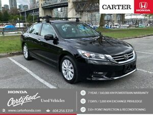 2015 Honda Accord EX-L + SPRING CLEARANCE + CERTIFIED!