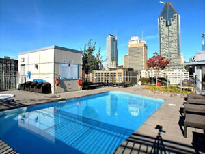 Luxurious Corner Condo, Downtown, 2 Bedroom Furnished + Parking