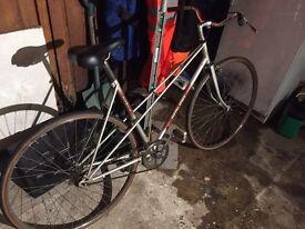 Ladies single gear bike