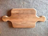 Authentic, real wood cutting boards made to suit