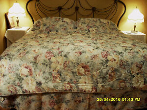 ensemble de literie king size comforter set 7 pcs. Rawdon #3364
