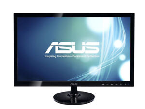 "ASUS VS248H-P 24"" Full HD VGA Back-lit LED Monitor - New"