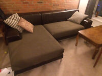 MOVING SALE - 2 COUCHES, COFFEE TABLE, GLASS DINING TABLE SET
