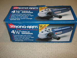 41/2 INCH ANGLE GRINDER