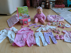 American Girl Bitty Baby with lots of Accessories