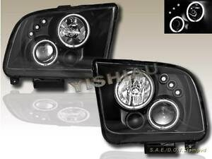 2005-2009-FORD-MUSTANG-GT-CCFL-DUAL-HALO-LED-PROJECTOR-HEADLIGHTS