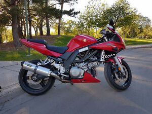 Suzuki SV1000S-Two bros exhaust Dyno tuned-Excellent condition