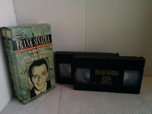 Set of 2 VHS classic Frank Sinatra movies