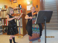 Experienced Teacher Offers Group & Private Violin Lessons