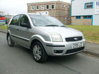 Ford Fusion 1.4TDCi 1398cc 2004.5MY 3 ONLY 49000 MILES 11 SERVICE STAMPS