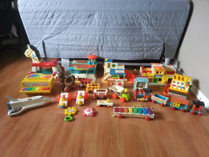 FS: Vintage Fisher Price toys