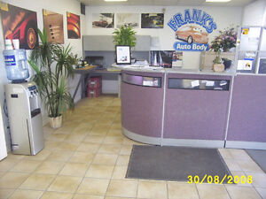 AUTO BODY SHOP EQUIPMENT OR COMPLETE BUSINESS FOR SALE