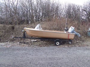1968 Impla boat and traler