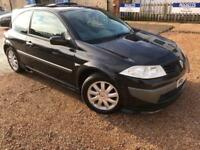 2007 '57' Renault Megane 1.6 VVT Dynamique Petrol Manual 3 Door Sport. Px Swap