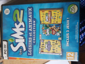 The Sims 2 : Loisirs et animaux collection.
