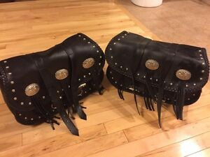 Willie and Max Warrior Saddlebags - $50