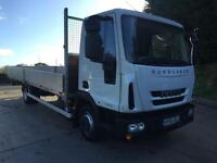 2015 65 Iveco Eurocargo 75E16 Euro 6, 21ft6 alloy dropside, 14,000kms only