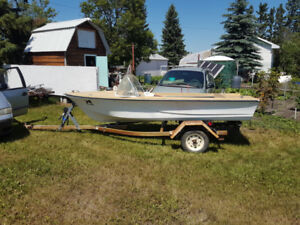 BOATS TRAILERS MOTORS - LARGE PACKAGE DEAL