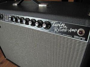 2008 re-issue Fender '65 Twin Reverb amplifier