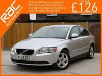 2009 Volvo S40 2.0D Turbo Diesel S Geartronic 6 Speed Auto Just 1 Private Owner