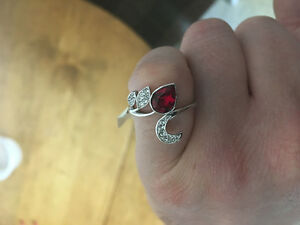 Charmed aroma rings. Sterling silver. Brand new