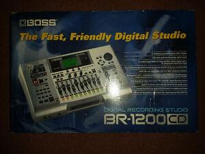 BOSS- BR1200CD DIGITAL RECORDING STUDIO