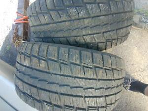 2 pneus tire winter hiver 225 50 16