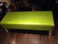 Lime Green Bench