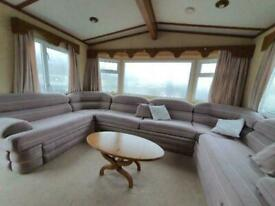 Static caravan Cosalt Rimini 35x12 2bed DG/CH. free UK delivery