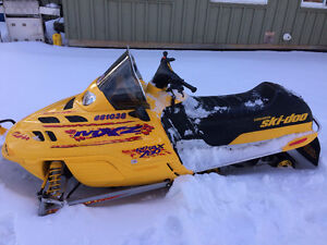 $1,000.00 CASH REWARD - 2 STOLEN SNOWMOBILES & TRAILER MADOC