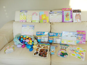 Large Assortment of Brand New Easter and Birthday Decor & Crafts