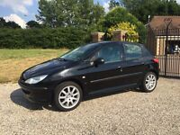 peugeot 206 1.4 automatic lx 5dr in very good condition