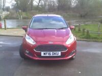 Ford Fiesta Zetec 1.25 82PS (red) 2016