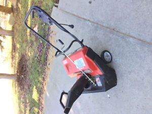 12 amp Noma electric snow blower
