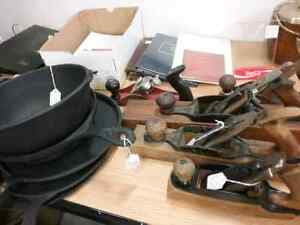 Old tools, fry pans, tins, sportscards, coins plus 600 booths  Stratford Kitchener Area image 1