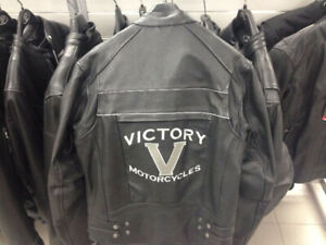 286217403 - VICTORY MOTORCYCLE LEATHER JACKET - BRAND NEW!